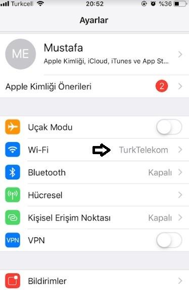 iPhone DNS degistirme ve DNS uygulamasi-2