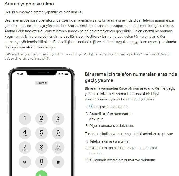 iPhone cift sim kart nasil kullanilir-6