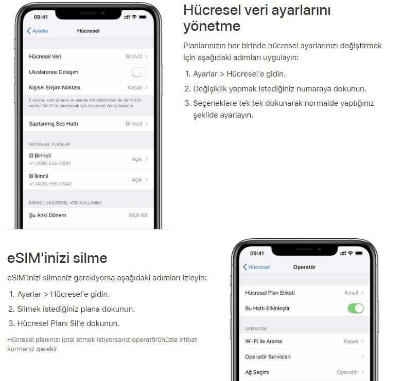 iPhone cift sim kart nasil kullanilir-9