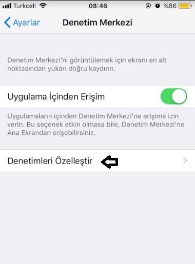iPhone kısayol simgeleri ekleme-3