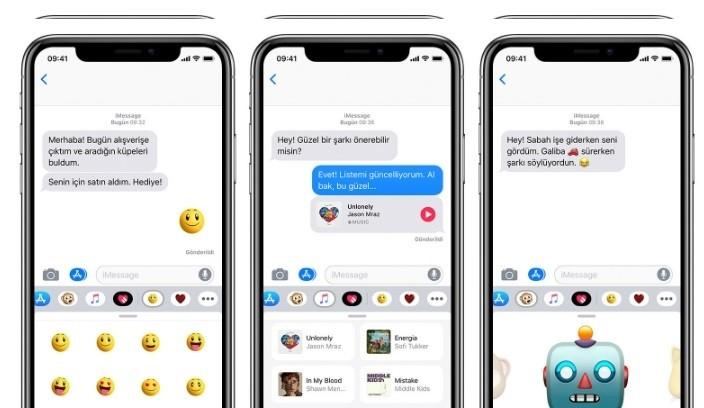 iPhone mesajlar uygulamasi renkli anlar-2