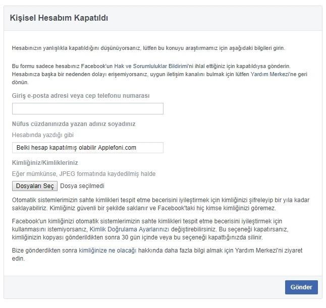 Facebook boyle bir kullanici yok sorunu-2