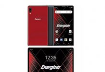 Ucuz katlanabilir telefon Energizer-1