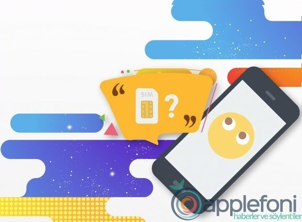 iPhone sim kart pin kodu değiştirme