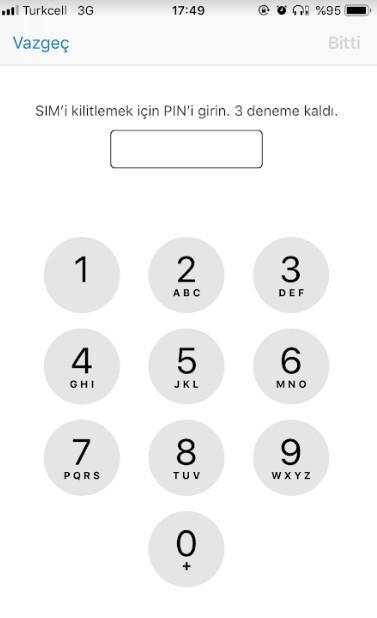 iPhone sim kart pin kodu degistirme-5