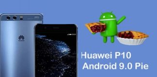 Huawei P10 Android Pie indir güncelle