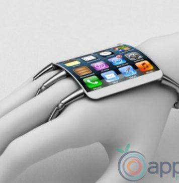 Katlanabilir iPhone telefon