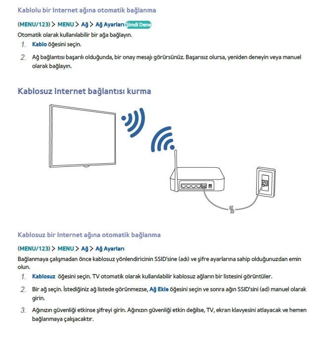 Samsung Smart TV wifi internet-2