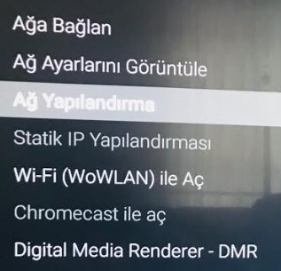 Smart TV dns ayarlari ve ip elle girme-3