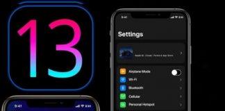 iOS 13 görüntüsü