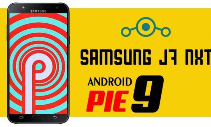 Galaxy J7 Android Pie yayınlandı şimdide Nxt