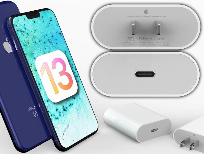 iOS 13 ile iPhone 11 Type-C göndermesi