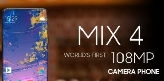 Xiaomi Mi Mix 4 108MP model olabilir