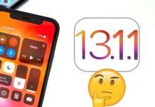 ios 13.1.1 parmak izi ekranı gelmiyor