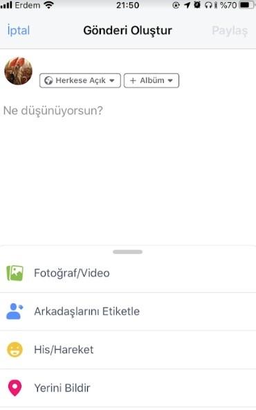 Facebook-konum-simgesi-çıkmıyor-konum-eklenmiyor