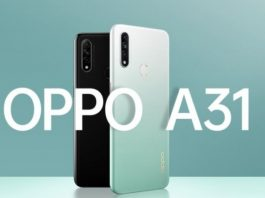 Oppo A31 özellikleri