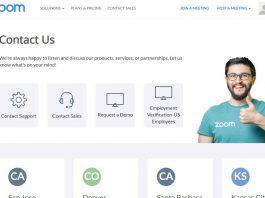 zoom müşteri hizmetleri