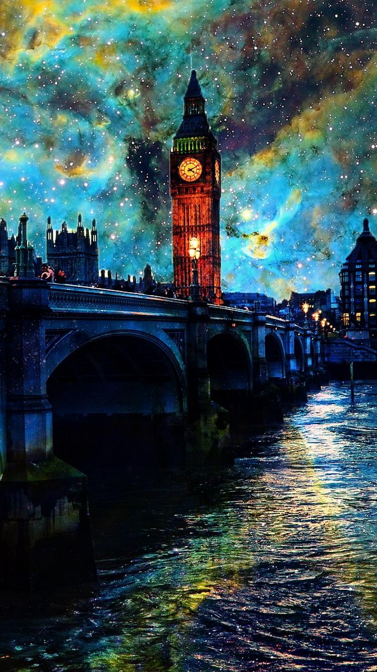Fanasy London Night iPhone 6 Wallpaper