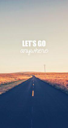 Go Anywhere Road iPhone 6 Plus HD Wallpaper