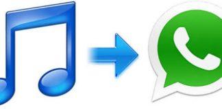 WhatsApp da iphone dan müzik paylaşma
