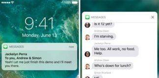 iOS 10 zengin bildirimler