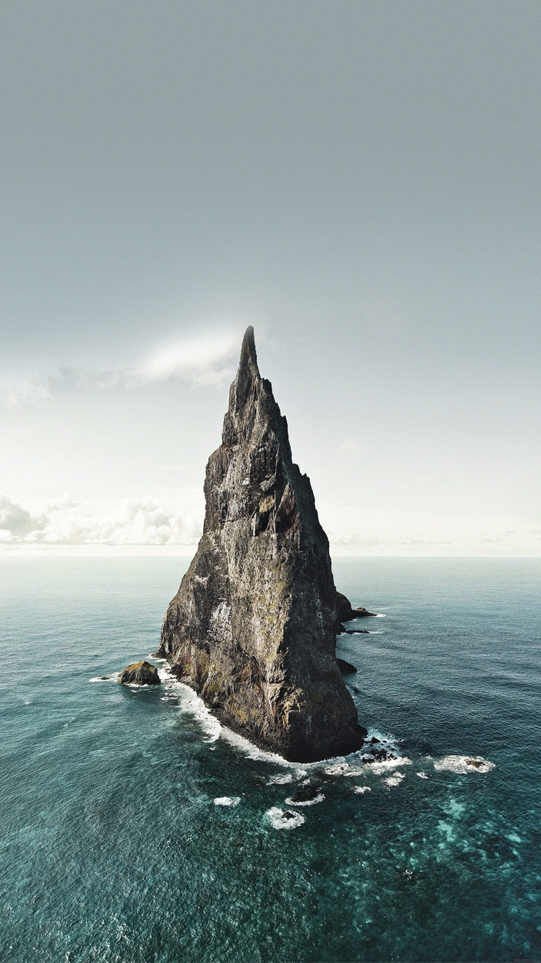 Ocean Rock iPhone 6 Plus HD Wallpaper
