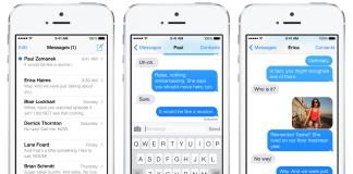 iOS-Mesajlar