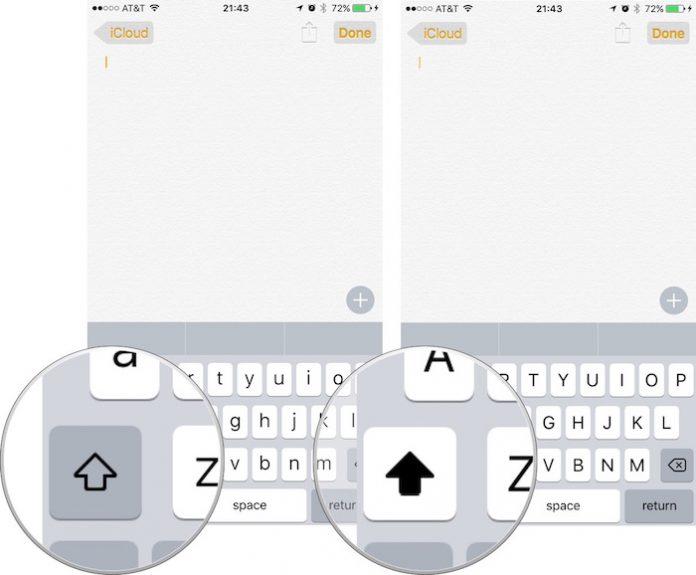 iPhone-Klavye