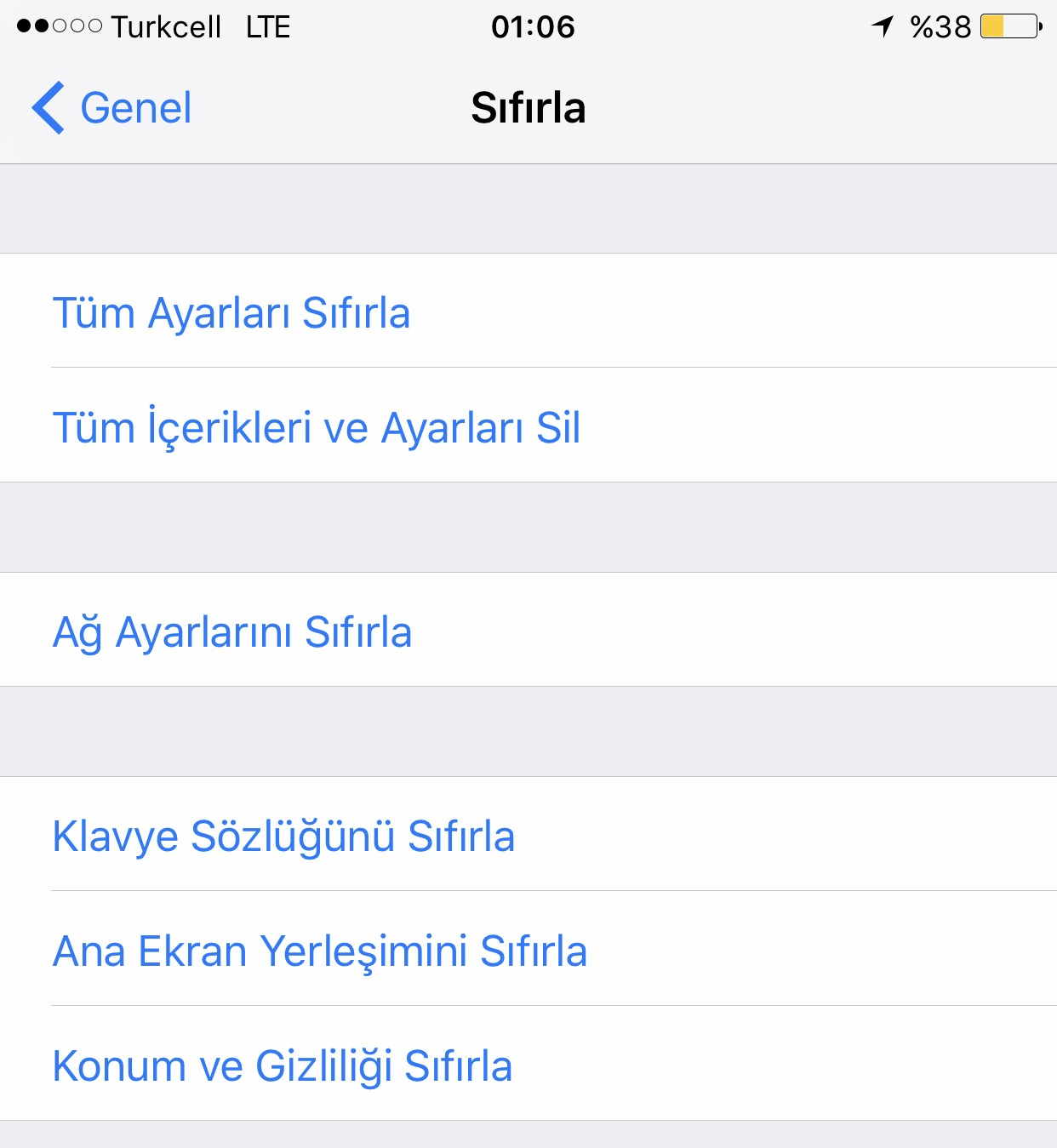 iphone-sifirlama