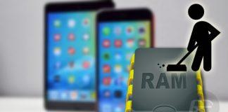 iOS RAM boşaltma