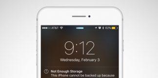 iPhone'da yer açma