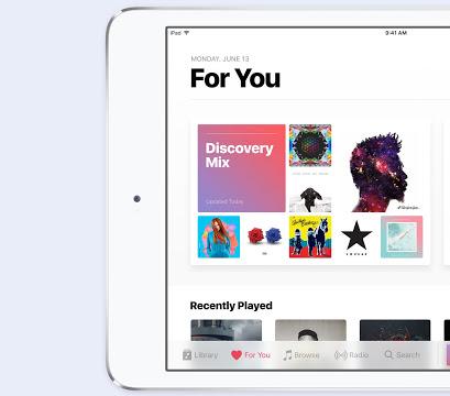 iOS 10 müzik