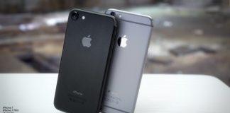 Siyah iPhone 7 konsept