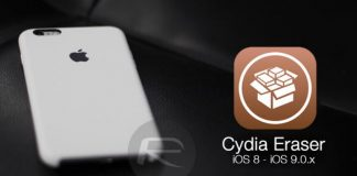 Cydia ımpactor,Cydia Eraser